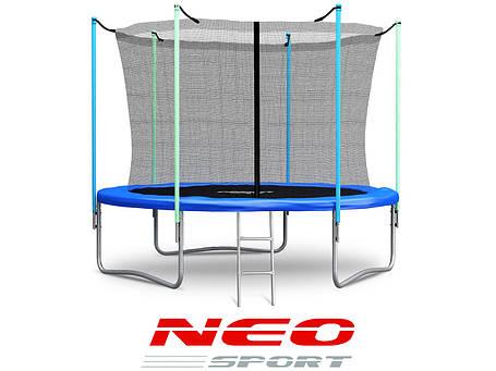 Батут NeoSport 183 см. с внутренней сеткой и лесенкой , фото 2