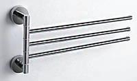 Вешалка поворотная тройная