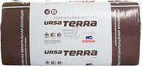 Вата URSA TERRA фасад вент.(100мм) 4,5 м.кв 1250x600x100 мм...