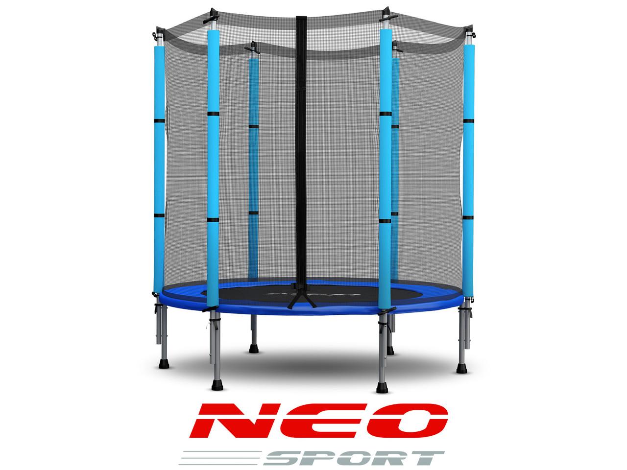 Батут NeoSport 140 см с сеткой