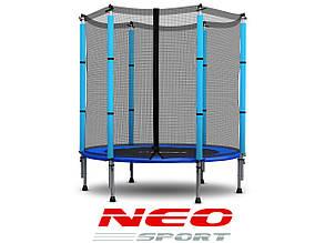 Батут NeoSport 140 см с сеткой , фото 2