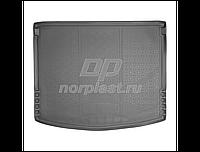 Коврик поддон в багажник Mazda 3 HB (с 2013 г.) Мазда 3
