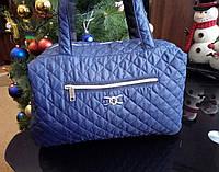 Женская стеганая,дутая сумка