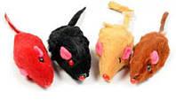 Игрушка для котов МЫШКА цветная 5см
