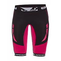 Компрессионные шорты женские Bad Boy Compression Shorts Black/Pink S
