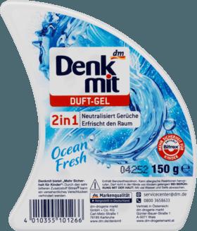 Гелевый освежитель воздуха Denkmit Ocean Fresh Duft-Gel 2in1