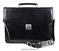Кожаный мужской портфель , фото 1