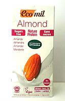 Молоко ораническое растительное из миндаля с протеином без сахара Ecomil 1 литр