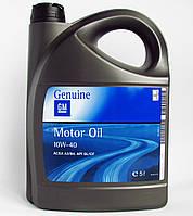 Моторное масло General Motors 10W-40 Semi Synthetic (5 L)  -  1942046