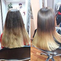 Кератиновое выпрямление волос Киев, кератин премиум класса. В салоне