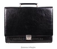 Стильный мужской портфель из натуральной кожи