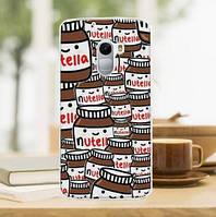 Силиконовый бампер для Lenovo A7010 / Vibe X3 Lite с картинкой Nutella