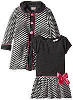 Платье с накидкой для девочки
