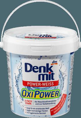 Универсальный - пятновыводитель Denkmit Oxi Power WEISS, 750g