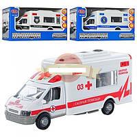 Машинка инерционная Спец транспорт Полиция/Скорая помощь/Служба доставки 0943/44/45 PLAY SMART