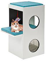 Ferplast BLANCO Будиночок когтеточка для кішок