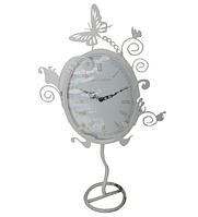 Годинник мет. настільний круглий Едем (33*5*57,5) 02-221