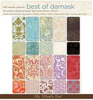 Скрап бумага Best of Damask_2  My Mind's Eye, 60 шт., фото 1