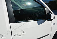 Volkswagen Caddy 2015+ Накладки на молдинг стекла