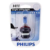 Галогенная лампа Philips Crystal Vision H11 12362CV SM