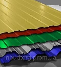 Профнастил  С-10  с полимерным покрытием (с порезкой в ассортименте) - ИнБудТорг в Днепре