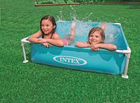 Бассейн каркасный детский INTEX 57173 SMALL FRAME POOL, 120Х120Х30 см
