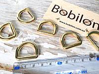 Полукольцо соединительное золото 4,9х19х14,3 мм