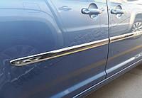 Volkswagen Caddy 2015+ гг. Накладки на молдинги (4 шт, нерж)