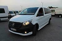 Mercedes Vito W447 2014+ гг. Тюнинг обвес на передний бампер (под покраску)