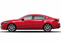 Mazda 6 2014-17 молдинги на двери передние задние окрашены в оригинальный цвет Новые