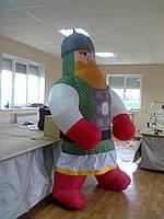 Надувной костюм рыцаря