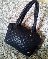 Стеганая-дутая сумка женская