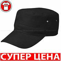 Военная КЕПКА МИЛИТАРИ цвет ЧЁРНЫЙ MB095