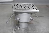 Канализационный трап 235*235 из нержавеющей стали для душевых, фото 1