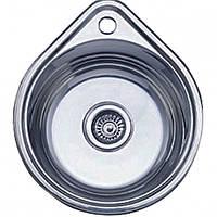 Мойка врезная 4539 нержавейка, покрытие décor, глубина 180 mm, Толщина 0.8 mm (MILLANO Imperial)