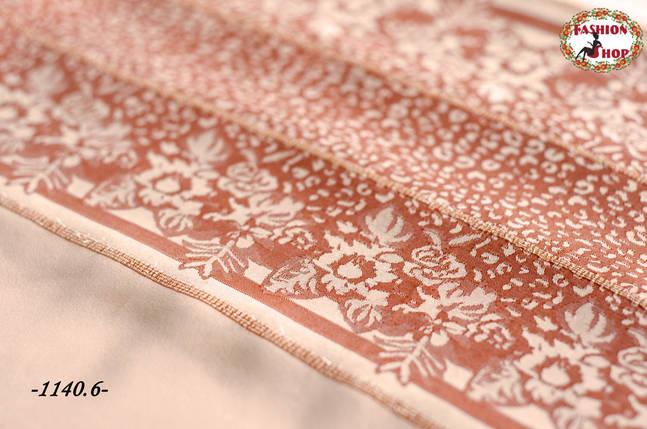 Стильный двухсторонний шарф Мира, фото 2