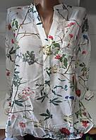 Блуза коттоновая женская , фото 1