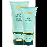 """Крем для ног """"Мускус"""" для восстановления сухой кожи (100 мл). MORE BEAUTY"""