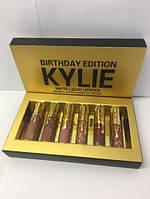 Набор жидких матовых помад Kylie 6шт. // Kylie GOLD 519