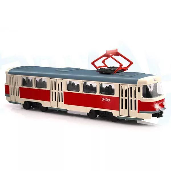 Трамвай со светом и звуком PLAY SMART 9708A