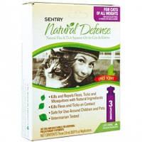 Капли от блох и клещей для кошек всех пород, СЕНТРИ НАТУРАЛЬНАЯ ЗАЩИТА ( SENTRY Natural Defense) 1пипетка