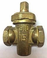 Кран пробковый муфтовый для газа 11Б6бк Ду15