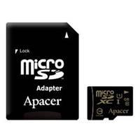 Карта памяти Apacer 64GB microSDHX UHS-I Class10 w/ 1 Adapter RP (AP64GMCSX10U1-R)
