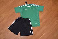 Футбольная форма Adidas зеленая