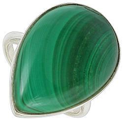 Малахит, серебро 925, кольцо, 465КЦМ