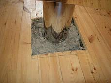 Прохід перекриття 260 мм з нержавіючої сталі для труби димоходу «Версія-Люкс», фото 3
