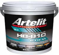 Однокомпонентный гибридный клей для паркета Artelit HВ-810 (15кг)