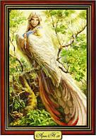 Схема для вышивки бисером «Женщина-птица»