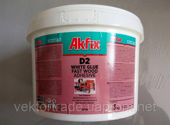 Клей ПВА Akfix D3 (3000гр), фото 2