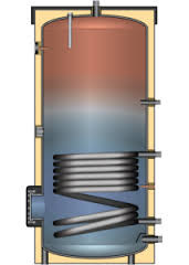Бойлер косвенного нагрева EBS-PU 400л